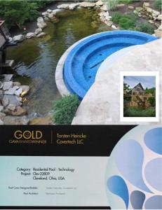 02-25_grando_2011_Gold_covertech_Preis_Award_Auszeichnung_Schwim